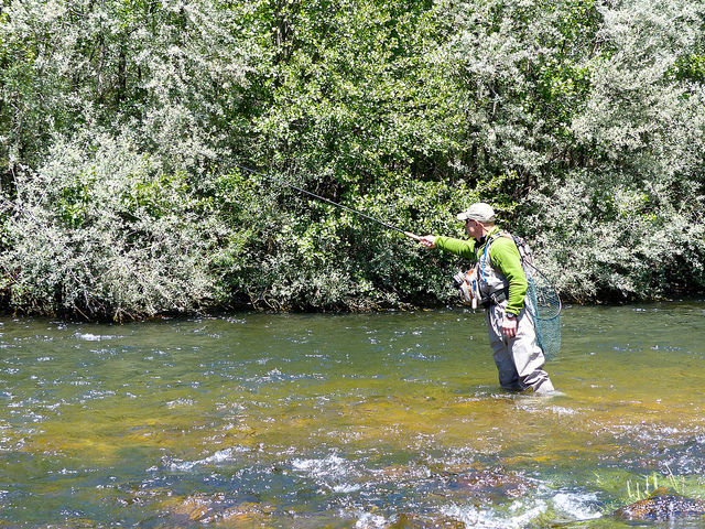 Fly fishing in spain eat sleep fish for Good day for fishing