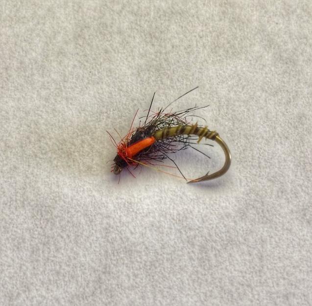 12 Scruffy Buzzers Flies